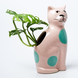 Jones & Co: Perry Cat Pink Vase