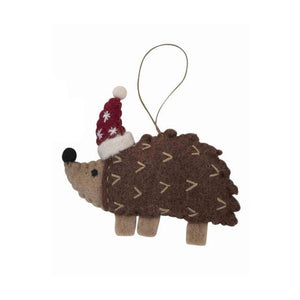 Christmas Ornament Australian Animals Echidna Hat