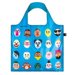 Loqi: Faces Shopping Bag