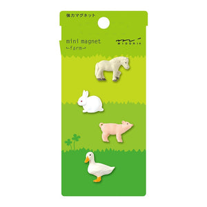 Mini Magnet Set: Farm
