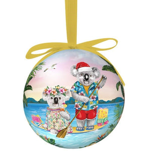 La La Land: Single Bauble Sunshine Lovers Paddle
