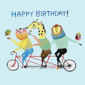 Greeting Card Birthday Bike