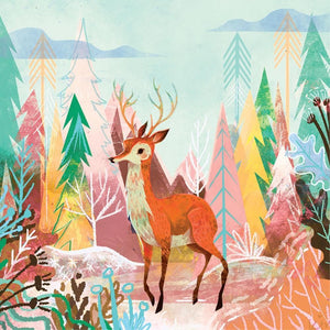La La Land: Greeting Card Spirit of Christmas Deer
