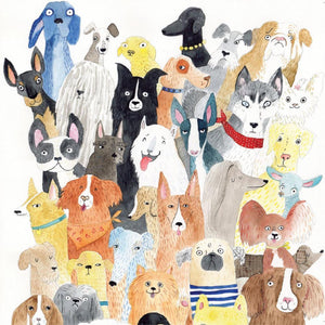 Greeting Card Dogs Dogs Dogs