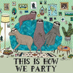 La La Land: Greeting Card Couch Sloths