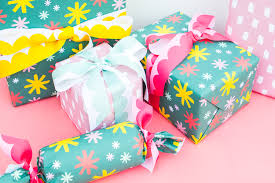 Gift Wrap and Greeting Card