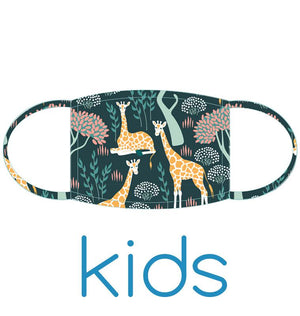 Kids Face Mask: Giraffes