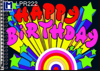 Lenticular Animation Postcard Happy Birthday I