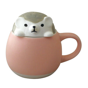 Animal Lid Mug/Sugar Pot Hedgehog