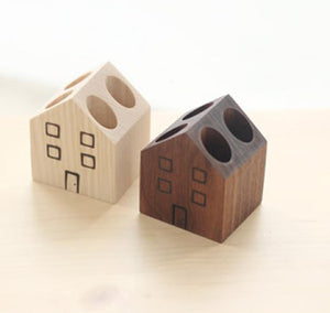 House: Pencil Holder 1 Siamese Wood