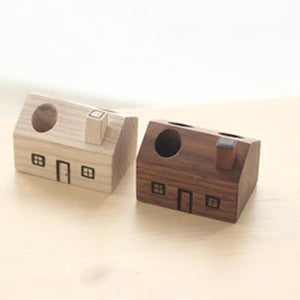 House pencil holder Siamnese Wood: 3