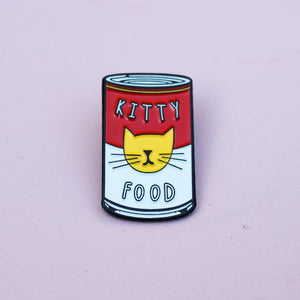 Enamel Pin - Kitty Warhol