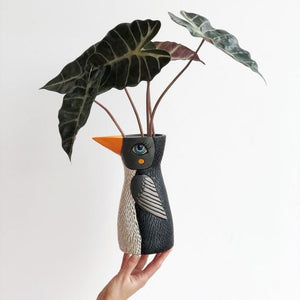 Michelle Allen: Penguin Watering Can/Vase