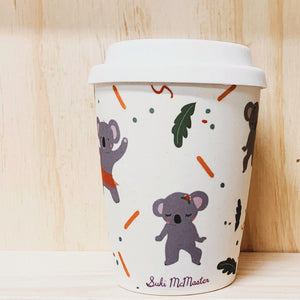 Bamboo Travel Cup - Koala (Small)