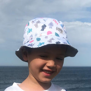 Min Pin Winter Kids Bucket Hat