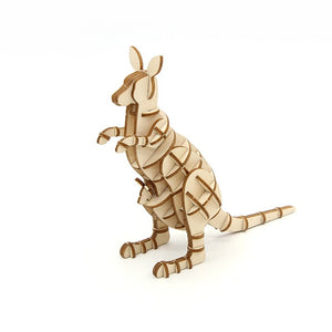 Kigumi: Wooden Model Kangaroo