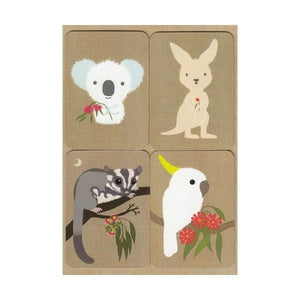 Gillian Mary Koala & Friends Magnet Card Set