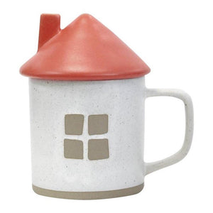 ARUTA HOUSE MUG RED