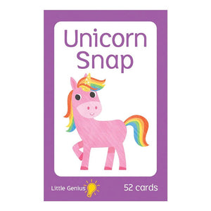 Little Genius Flashcards Unicorn Snap