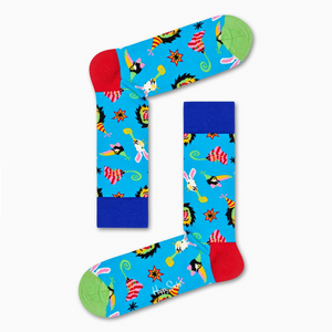 Party Animal Sock Blue