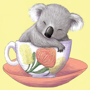 Mini Card Baby Teacup Koala