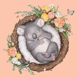 La La Land: Greeting Card Nested Baby Koala