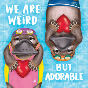 La La Land: Greeting Card Weird But Adorable