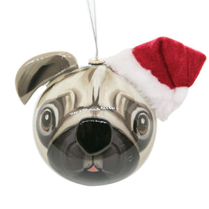 3D Bauble Pugsley Dog