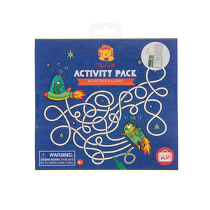 Tiger Tribe: Activity Pack Monsters and Aliens