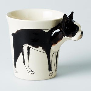 Tail Wagger Mug Boston Terrier