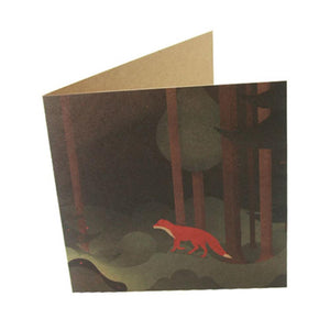Greeting Card: Forest