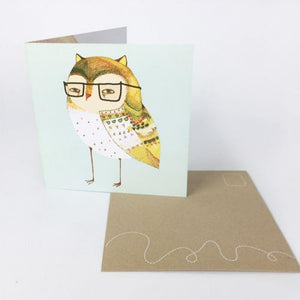 Greeting Card Little Owl