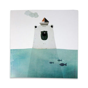 Greeting card Polar Bear
