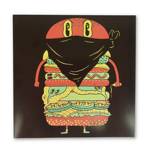 Greeting Card Hamburger