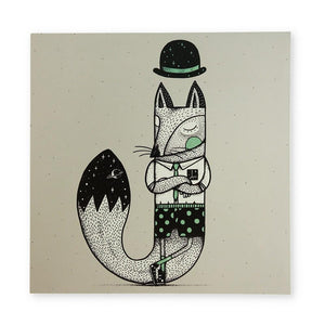 Greeting Card: Jackal