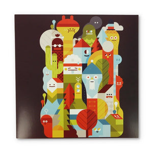 Greeting Card: Character City