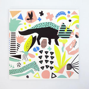 Greeting Card Jurassic Party