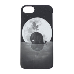 iPhone 7 Case: Whale Moon