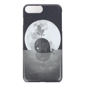 iPhone 7 Plus Case: Whale Moon