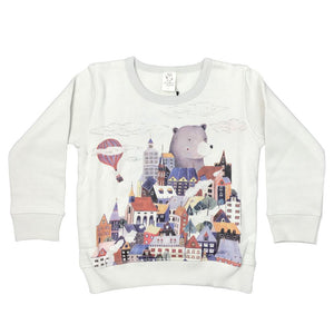 Housestack Moonstuck Grey Kids Jumper