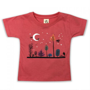 The Messenger Coral Kids Tee