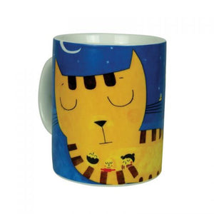 Mug Sleeping Cat