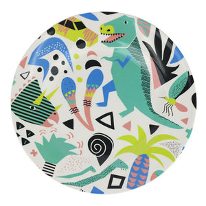 Melamine Plate: Jurassic Party