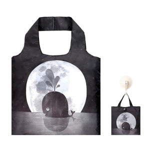 Shopping Bag: Whale Moon