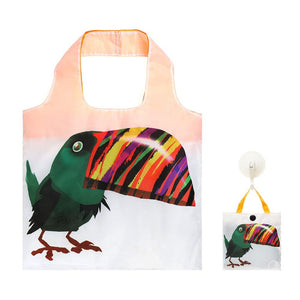 Shopping Bag Parrots Josh Hoye