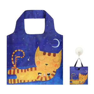 Shopping Bag Sleeping Cat