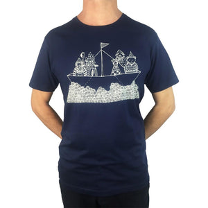 Tinas Ark Navy Mens Tee