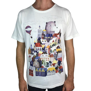 Houses Off White Mens Tee