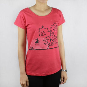 Moondawn Watermelon Womens Tee