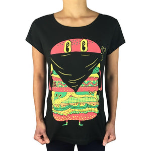 Mac Robber Charcoal Womens Tee